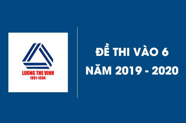 de-thi-cap-2-chat-luong-cao-luong-the-vinh-nam-2019-2020