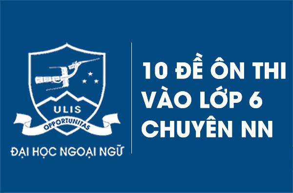 10-de-on-thi-cap-2-chuyen-ngoai-ngu-nam-2020