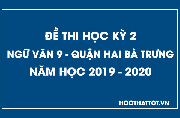 de-kiem-tra-hoc-ky-2-ngu-van-9-quan-hai-ba-trung-2019-2020