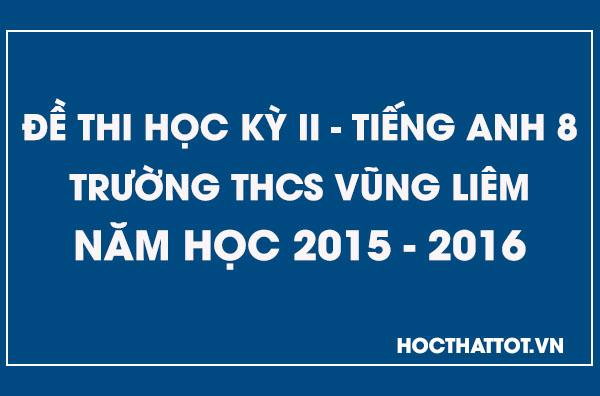 de-kiem-tra-hoc-ky-2-tieng-anh-8-thcs-vung-liem-2015-2016