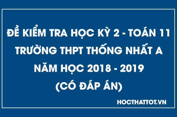 de-kiem-tra-hoc-ky-2-toan-11-nam-2018-2019-thpt-thong-nhat-a