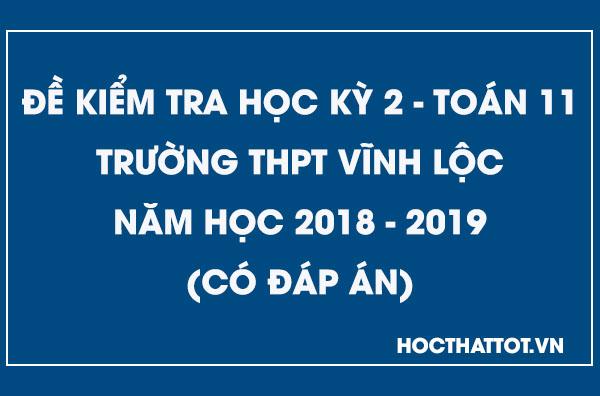 de-kiem-tra-hoc-ky-2-toan-11-nam-2018-2019-thpt-vinh-loc