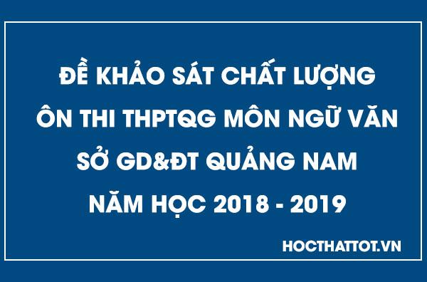 de-khao-sat-chat-luong-on-thi-thptqg-mon-ngu-van-quang-nam-nam-2019